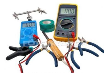 Le matériel de l'électricien